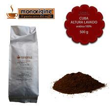Caffè Monorigine Arabica macinato fresco per espresso Cuba Altura Lavado 500 gr