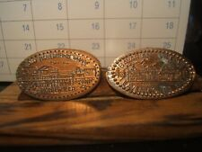 3 SOUVENIR TOKENS: UNIVERSAL STUDIO-FLA., OLD FISHERMAN WARF-MONTREY,EVENWORTH