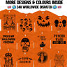Halloween T Shirt Costume Trick Or Treat Jack O Lantern Pumpkin Face Skeleton