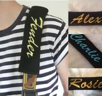PERSONALISED guitar strap cover Personalise with any name