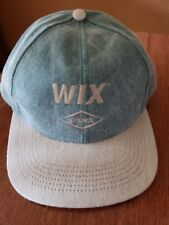 WIX Filters Hat/Cap HUNTING, Fishing. Green w/Tan Adjustable OSTERMAN New!