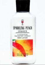 New listing Bath & Body Works 24 Hr Moisture Body Cream Sparkling Peach Sangria 8 oz New