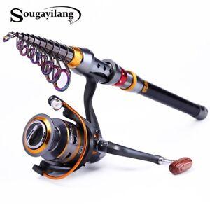 Sougayilang 1.8m Telescopic Fishing Rod