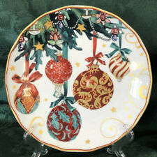 NEW~1 Williams Sonoma TWAS THE NIGHT BEFORE CHRISTMAS ~ Ornaments Salad Plate