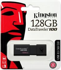 Kingston 128GB Data Traveler 100G3 130MB/s USB 3.1 Flash Pen Drive DT100G3/128GB