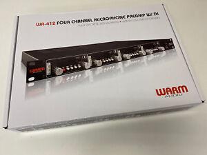 Warm Audio WA-412 Four Channel Microphone Preamp w/ DI