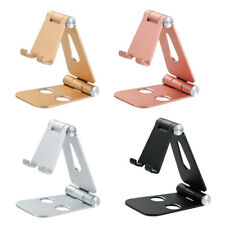 Cell Phone Foldable Tablet Switch Stand Aluminum Desk Table Holder Cradle Dock