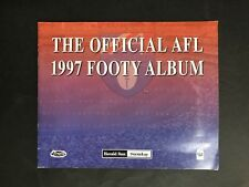 FOOTBALL AFL 1997 OFFICIAL AFL FOOTY ALBUM FROM HERALD SUN COMPLETE