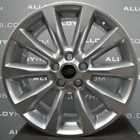 "GENUINE RANGE ROVER L322 VOGUE 10 SPOKE BBS 20"" INCH SILVER ALLOY WHEELS SET X4"