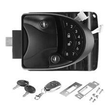 Car Rv Camper Trailer Remote Keyless Entry Door Lock Latch Kit Black Ma1657