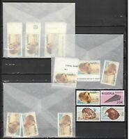 DEALER STOCK NIGERIA 1987 MNH Shells 4v   N10 sets    s23208