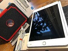 Apple iPad mini 4 (128gb) Wi-Fi (A1538) 7.9in/ Silver *~* Don't Turn On ~ FMI-ON