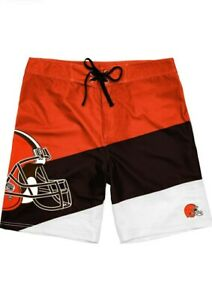 FOCO ~ Cleveland Browns Mens Swim Boardshorts ~ SIZE ~ 36 ~ NEW WITH TAGS
