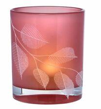 Räder Design Teelichthalter beflocktes Poesielicht *Blätter * 13170