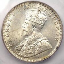 1917-B India Rupee KM-524 - ICG MS63 - Rare Certified BU UNC Coin