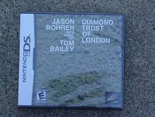 Diamond Trust of London - Regular Edition - Nintendo DS - Brand New
