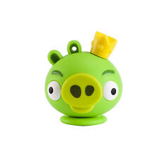 CLE USB 4GO RAPIDE EMTEC ANGRY BIRDS KING PIG /vert 4 gb usb stick clef 4gb 4 go