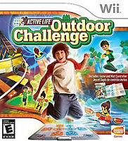 Nintendo Wii : Wii Active Life Outdoor Challenge [Game only] VideoGames