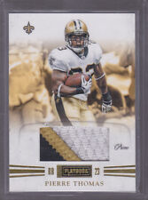 2011 Panini Playbook Materials Prime #27 Pierre Thomas 3-Color Jersey 02/49