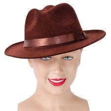 Adulte Freddy style #Fedora Chapeau Marron Horreur Déguisement Halloween Accessoire