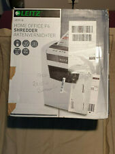 Destructeur de documents Leitz IQ Home Office, Coupe croisée, Securité P4
