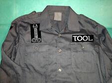 Tool Grey German Army XL Shirt Rock Band Undertow Lateralus Ænima 10,000 Days
