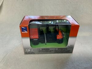 KUBOTA RTV-1140CPX New Ray Pull Back Action Toy Issued 2017