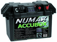 DELUXE NUMAX ACCUBOX BATTERY BOX MARINE LEISURE  CARRY BOX