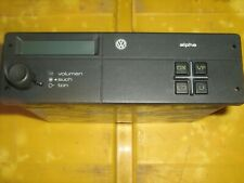 Youngtimer Autoradio VW Alpha, ohne Kassette/CD