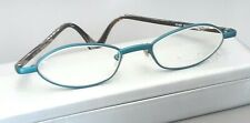 Face a Face WOMEN'S TURQUOISE METAL RX EYEGLASSES (47. 19.  130)