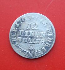 Deutsches Reich 12 Einen Thaler- EINE FEINE MARCK 1703 Silber SS-VF  F# 2314