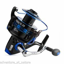 MAYA Fishing Galaxy XL80 Spinning Casting Shore Aluminum Reel With Powerful Body