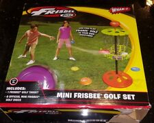 Wham-O Mini Frisbee Golf Disc indoor and outdoor Toy Set, Camping, Yard, NEW
