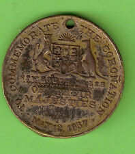 #D174.  1937 CORONATION  MEDAL, NEW SOUTH WALES