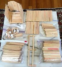 LOT of 600+ VINTAGE POPCYCLE ICE CREAM STICKS! USE FOR CRAFTS TO BUILD LAMPS Etc