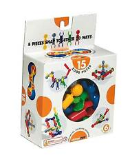 ZOOB 15 pieces construction building starter kit by infinitoy Ages 4+ NEW