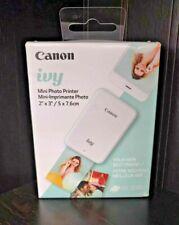 Canon IVY Mini Mobile Photo Printer - Mint Green - 2''x 3''/ 5 x 7.6 cm