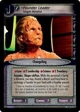 Star Trek CCG 2E What You Leave Behind Founder Leader, Single Minded 14R71