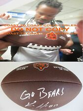 KEVIN WHITE,CHICAGO BEARS,WEST VIRGINIA,SIGNED,AUTOGRAPHED,LOGO FOOTBALL,PROOF