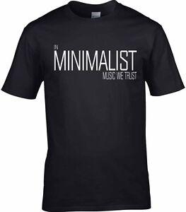 Minimalist Music Jazz T-Shirt Steve Reich Philip Glass Brian Eno New Age Bowie