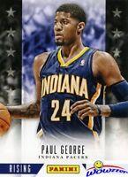 2013/14 Panini Hoops Rising Stars EXCLUSIVE #6 Paul George MINT Rare Insert