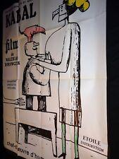 KABAL  walerian borowczyk rare affiche cinema