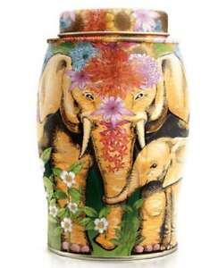 NEW WILLIAMSON TEA ELEPHANT CADDY TIN - EARL GREY TEA BAGS - PARTY ELEPHANT