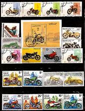 TOUS PAYS  bloc et timbres : MOTOS anciennes et modernes 303T5