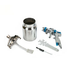 "1.3mm 1/4"" NPS Air Spray Gun with Cups Autonotive Paint Pneumatic Tool for Car"
