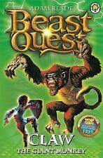 Claw the Giant Monkey (Beast Quest), Adam Blade | Paperback Book | Acceptable |