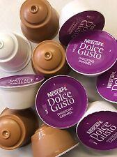 Dolce Gusto Chococino Caramello Mix 80 Capsule 40 Latte & 40 Cioccolata