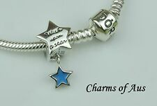 PANDORA Genuine Bracelet WITH 925 Sterling Silver Wishes charm. Christmas gift!!
