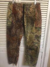 Posh House Real Tree Camouflage Brushed Poly Hunting Pants USA 34x29