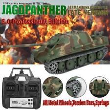 6.0 Pro Metal Heng Long 3869-1 1/16 Remote Control Rc Tank German Panther Battle